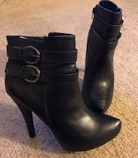 G by Guess Black Leather Boots! Bakersfield, 93308
