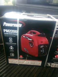 red and black Troy-Bilt portable generator box Little Rock, 72204