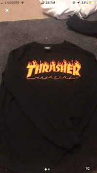 thrasher long sleeve Coquitlam, V3C 5X5