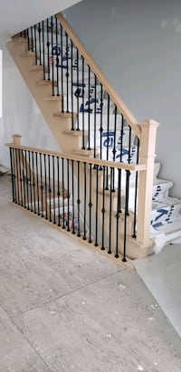Stair and Railing installation