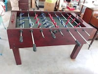 brown and green foosball table Alexandria, 22312