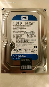 "1 TB WD Blue 3.5"" sabit hard disk HDD"