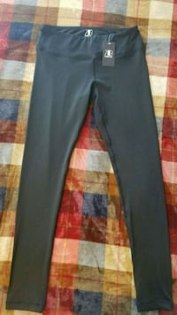NEW KuBeer black leggings size Medium Pearl, 39208