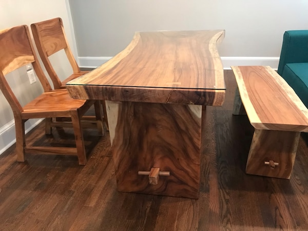 Beautifully hand crafted south Asian wood table.