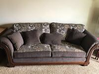Brand New Brick Couches with 5 year Warranty  Purnhased a month ago,have to move ASAP,receipt for 2800$ asking 1500$ OBO.2 large sofa 1 loveseat Edmonton, T6J 4S7