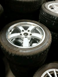 "5 x 5"" rims and tires  Calgary, T2K 5X2"