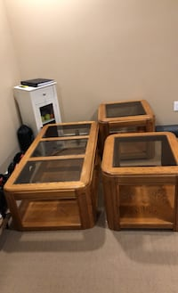 Coffee and end tables set Sherwood Park, T8H 2T8