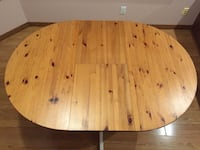 Brown wooden table Burnaby, V5H 2Z6