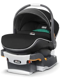 Baby's black and gray chicco car seat carrier Alexandria, 22312