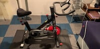 Barely used spin bike, Garmin pedals, wahoo cadence meter Washington, 20017