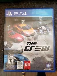 The Crew ps4 game Richmond, V6V 2M2