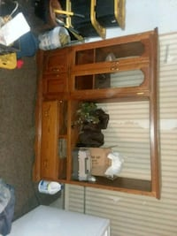 Solid oak entertainment center  Rivesville, 26588