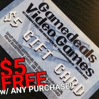 $5 for FREE w/ any purchase! New Westminster, V3M 3Y3