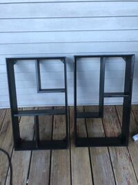 two black wooden side tables Chicago, 60647