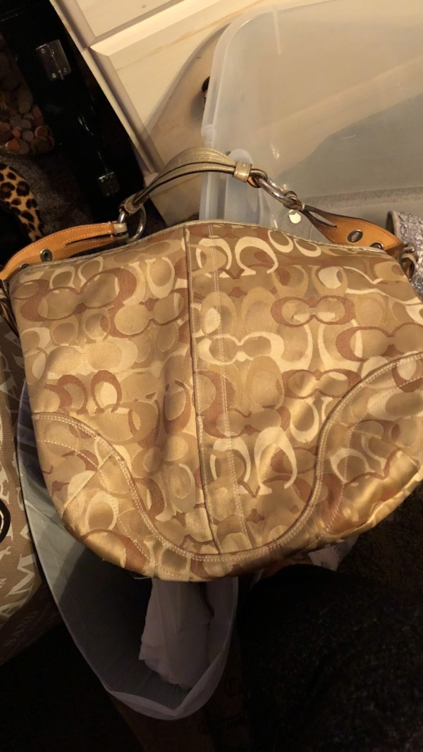 Gently Used Coach Bag Neutral Colors