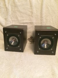 JVC SP-FSY1 Wooden Speakers Pair Bookshelf 20W Speaker Set