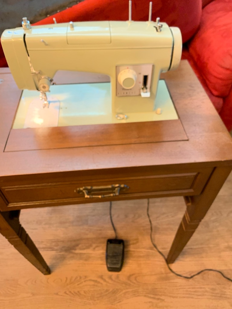 Photo Collectible Vintage Sears Kenmore Sewing Machine