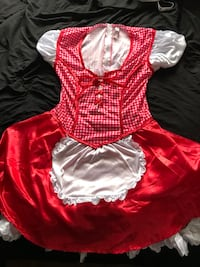 women's red and white dress Cohoes, 12047