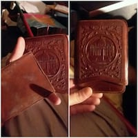 brown and black leather wallet Belton, 76513