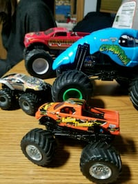 Monster jam cars