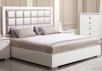 Queen bed frame  Lancaster, 93534