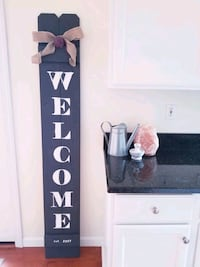 //Welcome Porch Sign// Newport, 41076