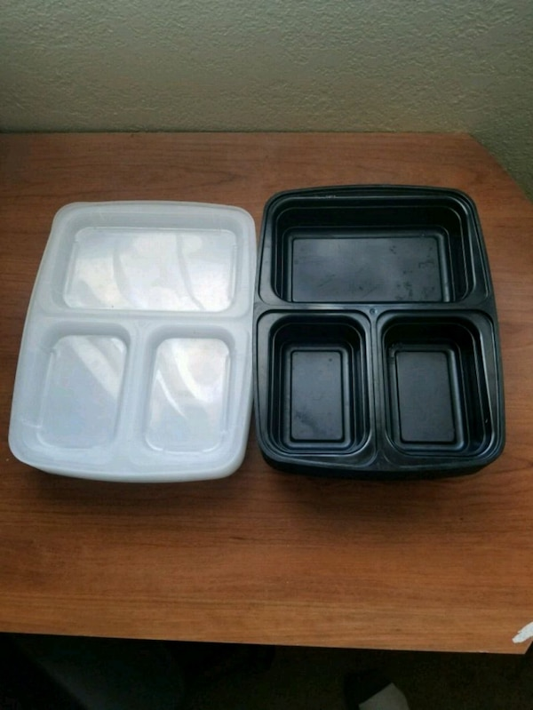 Meal prep food containers 10 pack
