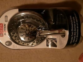 BRAND NEW NEVER USED 4 WAY SHOWER HEAD