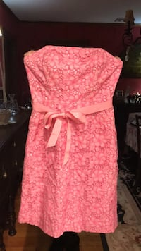 lilly pulitzer strapless dress size 4 mint condition  West Caldwell, 07006