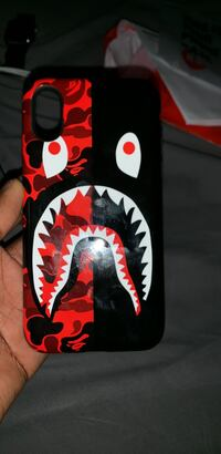 Brand new Bape iPhone XS case Burlington, L7L 6J4