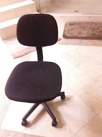 black and gray rolling chair Cecil, 36013