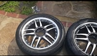 17 inch rim universal(comes with 4 tires,i will add an extra tire for free.) Hyattsville, 20782