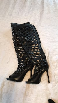 thigh high heels size 6.5 Lincoln, 68508