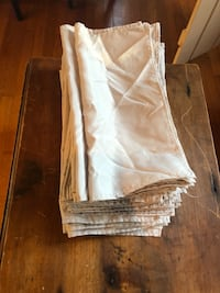 105 Silver Linen Napkins  Warrenton, 20186