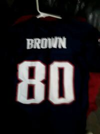 New England Patriots #80 Troy Brown jersey