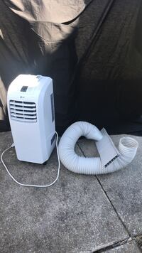 White lg portable ac unit Woodsboro, 21798