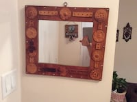 Antique mirror,17 by 15 inch ,good condition Toronto, M2R 2A3