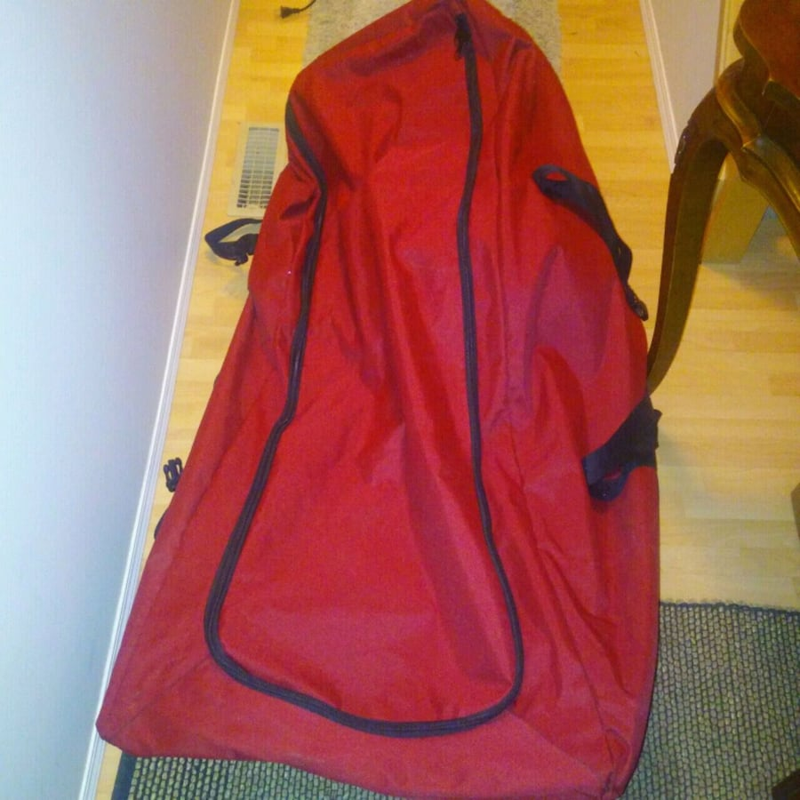 PREOWNED: HUUUGE bag for storing your artificial christmas tree excell