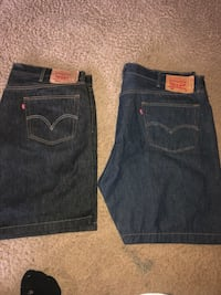 Two blue and black denim bottoms Bakersfield, 93305