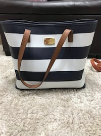 MK striped tote Baltimore, 21222