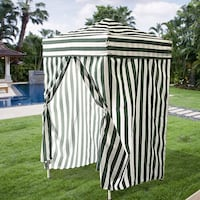 New in box Green and White Stripe Beach Cabana Changing Room Pool side Outdoor Camping South El Monte, 91733