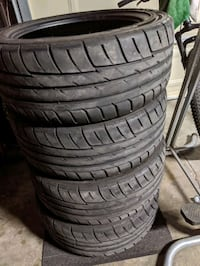 GT Radial SX2 Tires 225/45/17