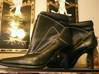pair of black leather boots Harker Heights, 76548