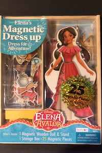 Disney Elena of Avalon Magnetic Dress up Warren, 48092