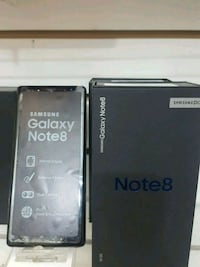 black Samsung Galaxy Note 8 with box Toronto, M4Y 2B2