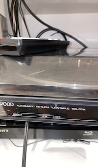 Kenwood KD-37R record player