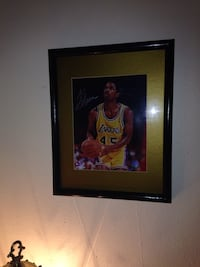 Signed A.C. Green photo framed