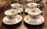 Royal Albert bone china tea cups and saucers Vancouver, V5R 6C5