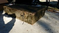 Vintage WWII troop personals chest