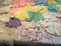 Baby's assorted-color clothes lot 619 km
